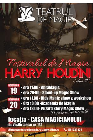 Festivalul de magie harry houdini 2016