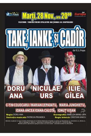 Take ianke si cadir noiembrie 2017