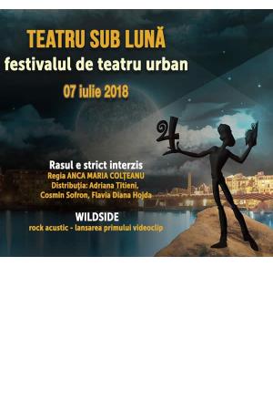 Teatru sub luna 7 iulie afis