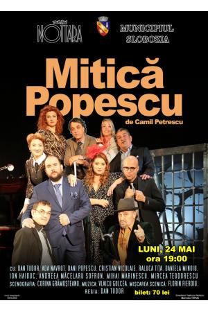 Afis MITICA POPESCU fcbk
