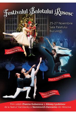 Festivalul baletului rusesc afis2