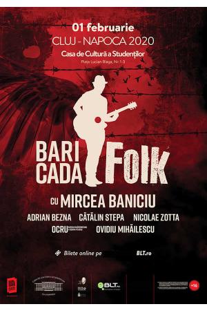 Cluj baricada folk