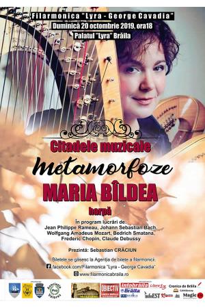 Concert harpa maria bildea afis2