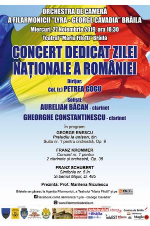 Concert ziua romaniei afis