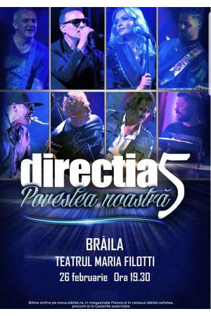 Directia5 braila 2020 afis