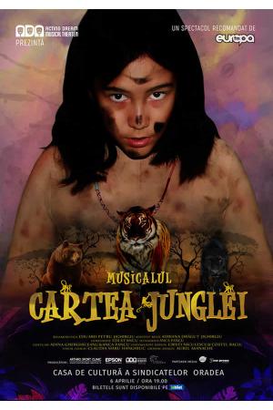 Cartea junglei musical oradea afis
