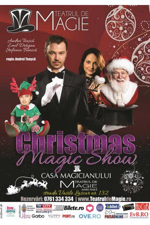 Christmas magic show teatrul de magie afis