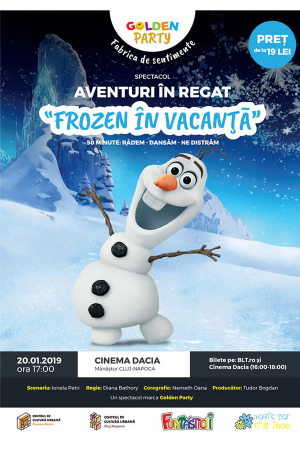Frozen in vacanta cluj afis