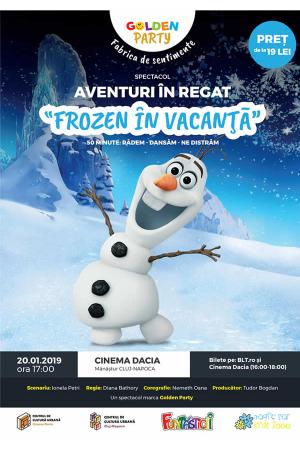 Frozen in vacanta cluj afis