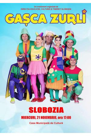 Gasca zurli show slobozia afis2