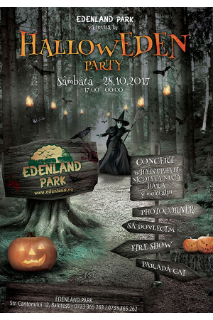 Halloween party edenland park