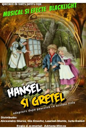 Hansel si gretel teatru copii
