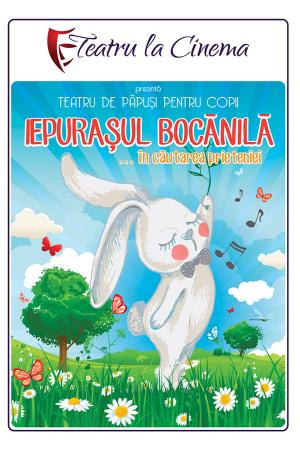 Iepurasul bocanila teatru copii