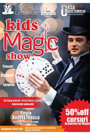 Kids magic show teatrul de magie