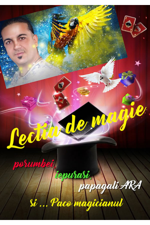 Lectia de magie paco magicianul