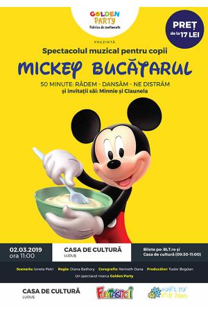Mickey bucatarul afis ludus