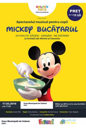 Mickey bucatarul zalau afis