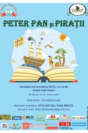 Peter pan si piratii dubee doo teatru