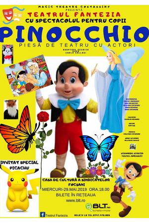Pinocchio focsani afis