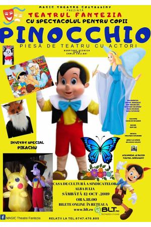 Pinocchio afis alba iulia