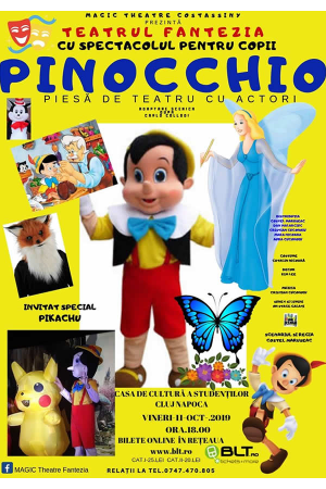 Pinocchio afis cluj