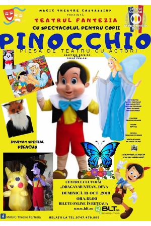 Pinocchio afis deva
