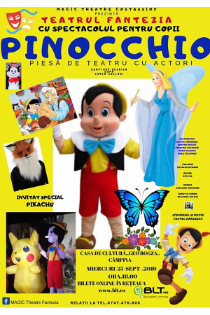 Pinocchio campina