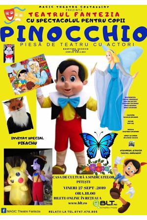 Pinocchio pitesti