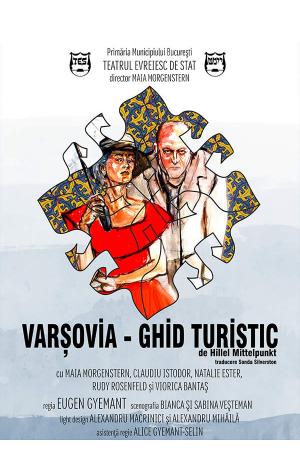 Varsovia ghid turistic afis deva