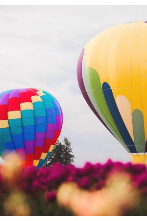 Zbor balon afis