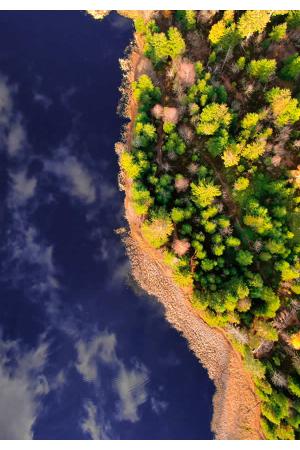 Zbor lac smarald afis