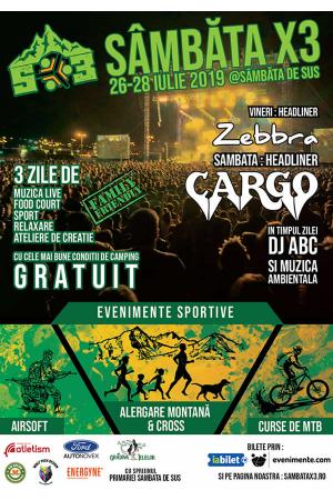 Festival sambata 3 afis