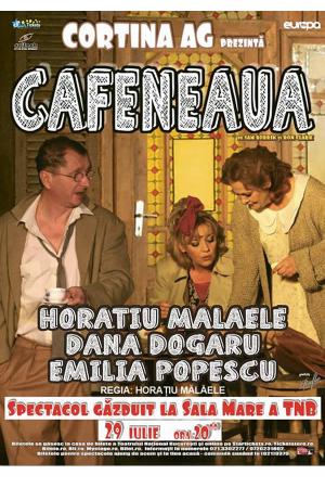 Cafeneaua iulie afis