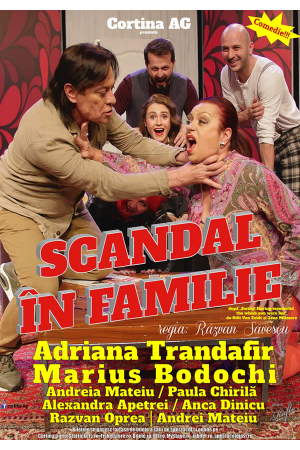 Scandal in familie afis