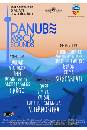 Danube rock sounds afis 2021
