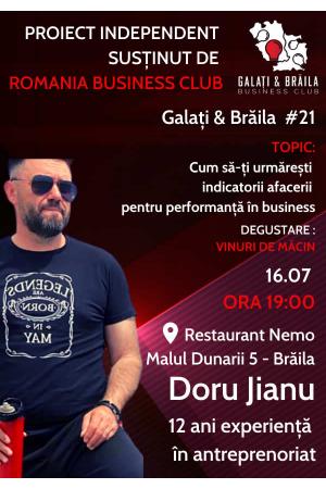 Galati braila business club 21 afis2