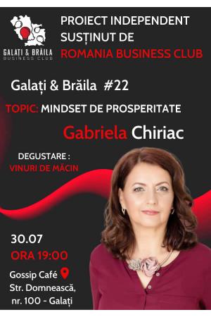 Galati braila business club 22 afis