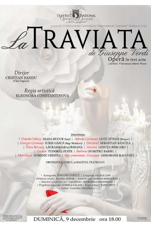 Traviata afis