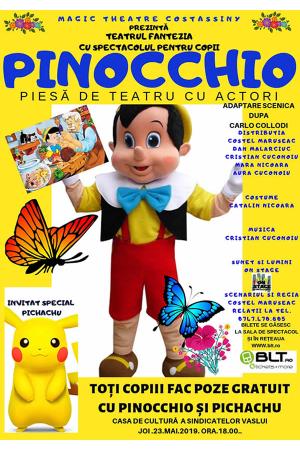 Pinocchi vaslui 2019 afis