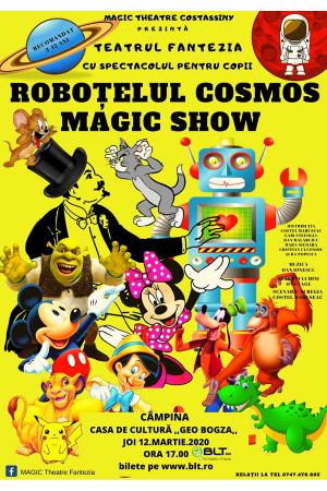 Robotelul cosmos afis campina