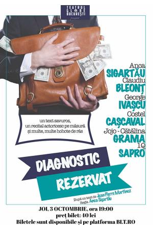 Diagnostic rezervat afis