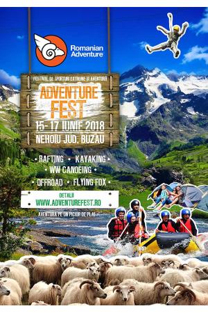 Adventure fest 2018 buzau afis