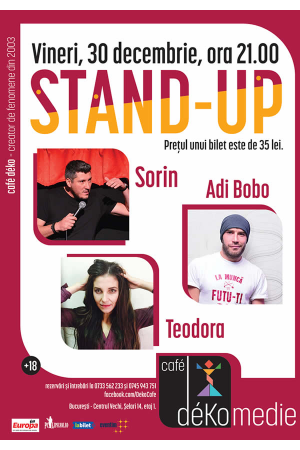 Standup cafe deko 30dec 2016