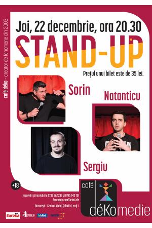 Standup comedy cafe deko sergiu natanticu sorin