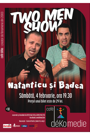 Two men show 4feb