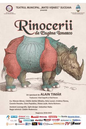 Rinocerii afis