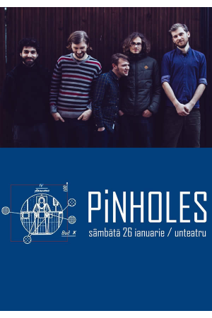 Pinholes concert afis