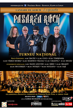 Pasarea rock turneu concert