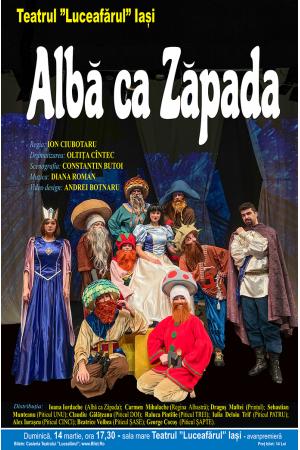 Teatrul luceafarul iasi premiera alba ca zapada dramatizare oltita cintec regia ion ciubotaru spectacole bilete locuri
