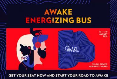 Awake bus 2019 front